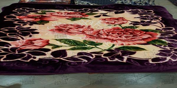 صادرات پتو یک نفره لاله مدل زنبق به ترکیه